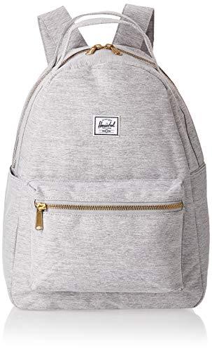 herschel-nova-backpack-light-gray-crosshatch-mid-volume-18-0l