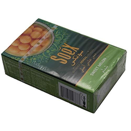 Soex SÜSSE MELONE pflanzliche Shisha Melasse ohne Nikotin Wasserpfeife 50 g