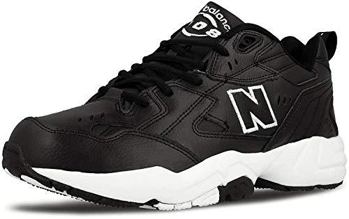 New Balance 608 BW1 MX608BW1 - Zapatillas deportivas, color negro, 4