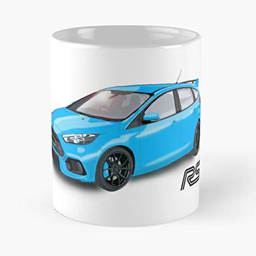 5TheWay Rs Car Ford Hoon Turbo Racing Cars Focus Standardkaffee 11 Unzen Geschenk Tassen für alle