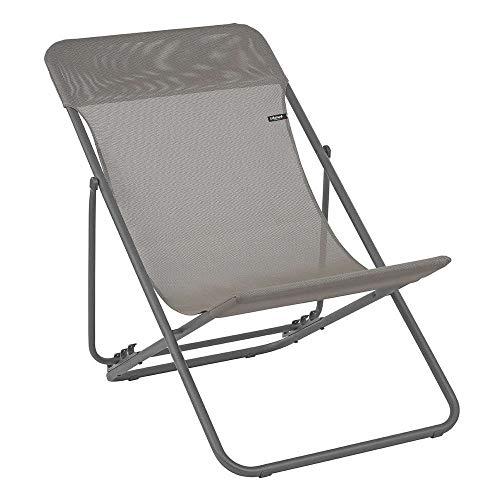 LAFUMA Maxi Transat - Juego de 1 silla Plegables para Exteriores