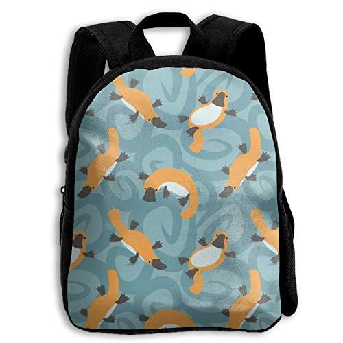 ADGBag Children Boys Girls Platypus Cute Backpack Shoulder Bag Book Scholl Travel Backpack Kinderrucksack Rucksack