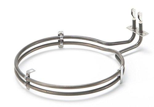 DREHFLEX - Ringheizung/Umluftheizung/Heizung/Heizelement - passend für diverse Bosch/Siemens/Neff/Constructa Herde/Backofen - passend für Teile-Nr. 00499003/499003 E.G.O. EGO 20.29477.000/2029477000