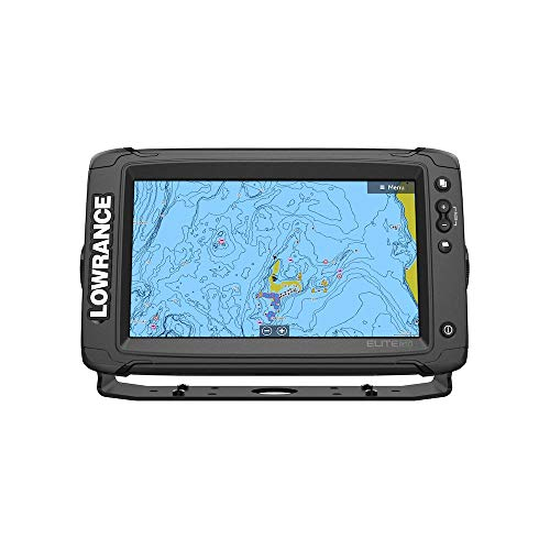 Lowrance Elite 9 Ti2 Fishfinder/Chartplotter Combo with US Inland Chart - No Transducer