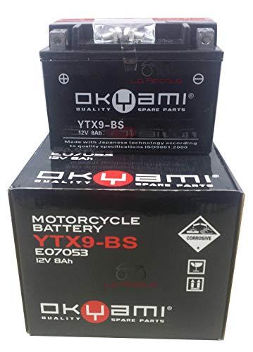 BATTERIA OKYAMI YTX9-BS 12 V 8AH