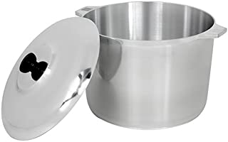 XProject 1040830 Classic Covered Stockpot, 10-Quart, Silver