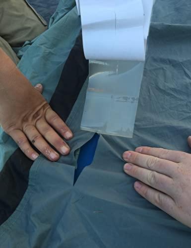 Cinta de resistencia industrial – impermeable, transparente, extra fuerte de reparación instantánea (0,5 m)