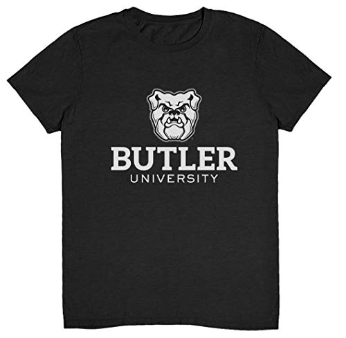 Camisetas Butler University Apparel Butler Blue Go Dawgs NCAA Butler Bulldogs, Butler Bulldogs cinza escuro mesclado, XXL