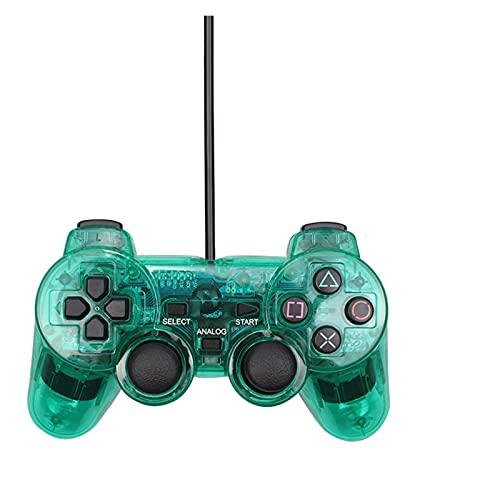 UJETML Controladores para PS2 con Cable USB PC Controlador de Juego Gamepad...