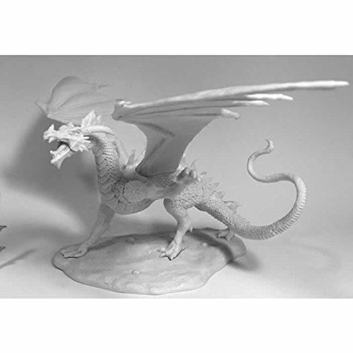 Reaper Miniatures Diabolus the Devil Dragon 77545 Bones Unpainted Plastic Figure