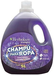 Detergente para ropa 100% biodegradable y ecológico 5 litros. Delicioso aroma natural de Lavanda - Cedro.