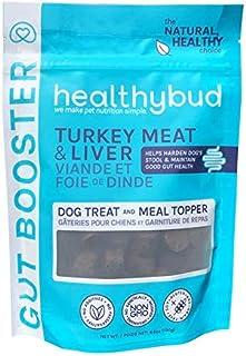 Sponsored Ad - Healthybud Turkey Gut Booster Dog Treat & Topper - Non-GMO, with Hemp, Pumpkin & Powerful Prebiotic & Natur...