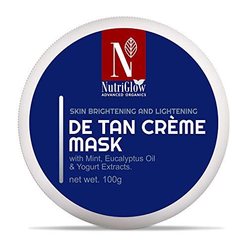 NutriGlow ADVANCED ORGANICS De Tan Cream Mask/skin lightning/all skin types