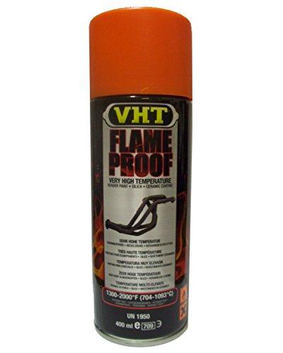 VHT Lack GSP114 Auspuff u.- Krümmerlack Flame Proof Orange matt hitzebeständig bis 1093°C (EUR 39,75/L)