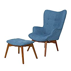 Super Wingback Chair With Ottoman Our Cool Products Alphanode Cool Chair Designs And Ideas Alphanodeonline