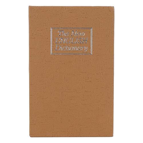 Caja de efectivo, caja fuerte para libros, hucha, joyería de durabilidad para tarjetas bancarias, documentos, monedas