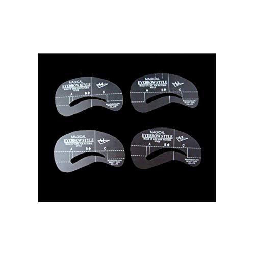 Simply Gorgeous - Ensemble de 4 Sourcils Brow Shaping Pochoirs A1 - A4