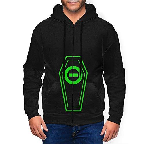 Type O Negative Mens Hooded Zipper Shirt Long Sleeve Hooded Sweat Shirt Pullover