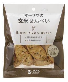 オーサワの玄米せんべい(しょうゆ味) 30g  4個セット