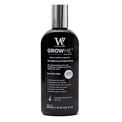 Watermans shampoo haargroei, luxe Preventie haaruitval Haarbehandeling, versnellen haargroei. Vegan & Vrij van parabenen, sulfaten