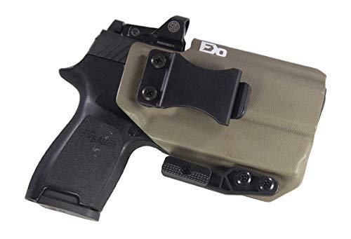 Fierce Defender IWB Kydex Holster Sig P320c RX w/Olight PL-Mini Valkyrie The Paladin Series -Made in USA- (Flat Dark Earth)