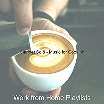 Clarinet Solo - Music for Cooking