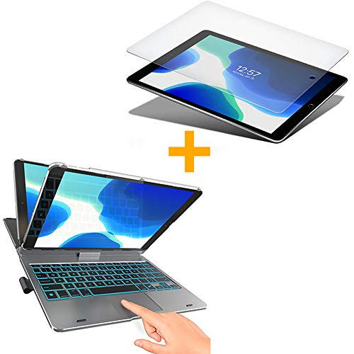 Typecase Touch- iPad 7th Generation Keyboard Case & Screen Protector for iPad 10.2, iPad Air 3 & iPad Pro 10.5