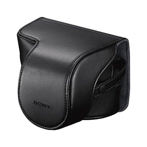 Sony LCSEJAB - Funda para cámara NEX-3, NEX-5, NEX-6, NEX-7, Negro