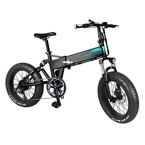 FIIDO M1 - Bicicleta eléctrica de 20 pulgadas para adultos,