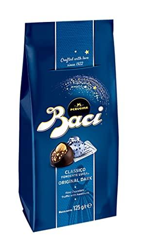 CHOCOLATE BACI PERUGINA ORIGINAL DARK CLASSICO FONDENTE LUISA 125 G