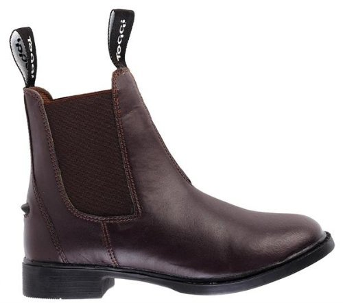 Toggi Brampton Child's Pull On Jodhpur Boot In Brown, Size: 3 (EU 35) by William Hunter Equestrian