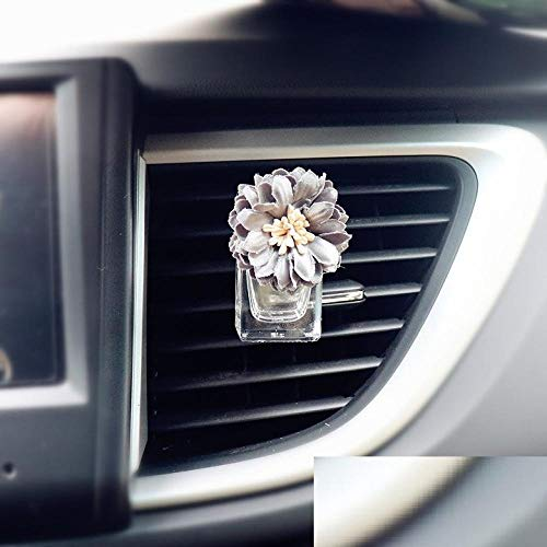 SGXDMxx Auto dames auto parfum airconditioning air outlet parfum clip auto luchtuitlaat parfum auto parfum fles lege fles 3