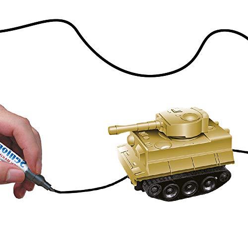 DROHNENSTORE24.DE ...DER DROHNEN-GURU DS24 Induktiver Panzer Spielzeug Fahrzeug mit magischem Stift Gadget