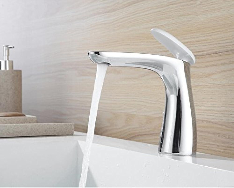 Makej Chrome Basin Faucet Brass Mixer Bathroom Sink Faucet Deck Mount Bath Taps Faucet Water Sink Tap