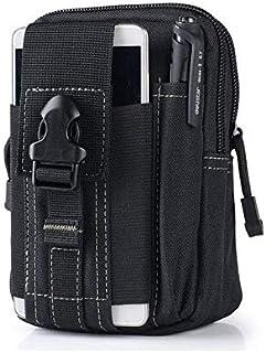 حافظة عالمية في الهواء الطلق التكتيكية العسكرية مول حزام الخصر حقيبة المحفظة الحقيبة محفظة الهاتف القضية مع سحاب لفون 7 و HTC