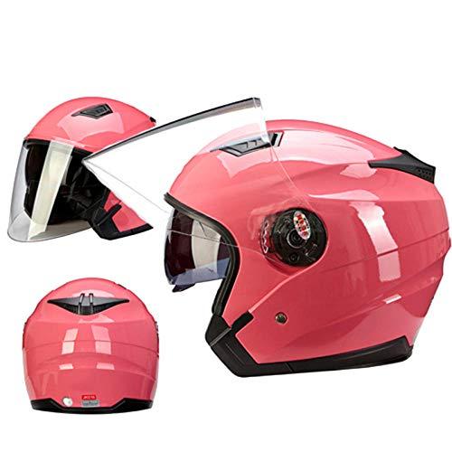 Doppelscheibe Motorradhelm Elektro-Fahrrad Fahrrad Roller Helm Motorradhelm, 5_XL