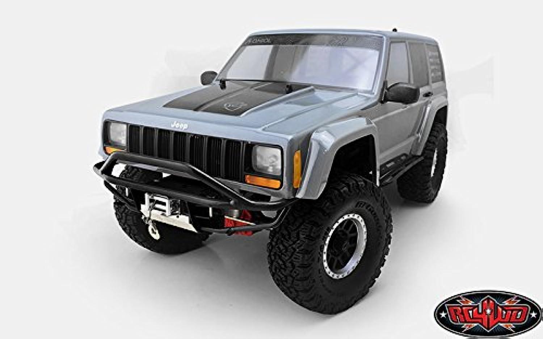 RC4WD Krabs Front Bumper for Axial SCX10 II XJ (schwarz)