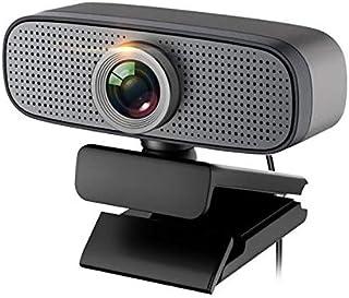 no logo MiMoo HD 1080P Computer Webcam, Online Teaching USB Desktop Laptop Unine External Web Camera, with Dual Noise Redu...