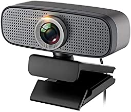WDFDZSW HD 1080P Computer Webcam, Online Teaching USB Desktop Laptop Unine External Web Camera, with Dual Noise Reduction ...
