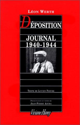 Deposition Journal 1940 1944