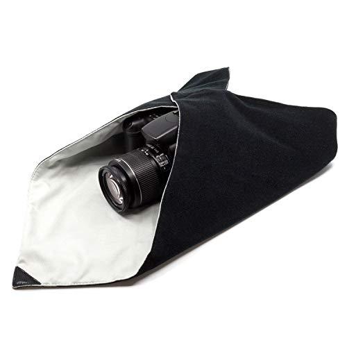 Amolith™ Einschlagtuch für Kamera als Schutzhülle für Fotoausrüstung im Rucksack, Tasche, Beutel etc. | Passen für Vollformat DSLR, Objektiv, Stativ, Tablet-PC, etc. | L (50 x 50 cm) | AML-8797