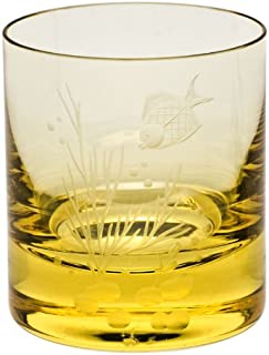 Moser Crystal Eldor Whisky Double Old Fashioned Ocean Life