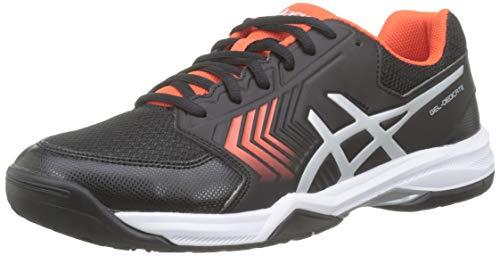 Asics Gel-Dedicate 5, Zapatillas de Tenis para Hombre, Negro (Black/Silver 007), 42.5 EU