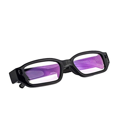 KOBERT GOODS K28 Versteckte hochauflösende 5 Megapixel Mini Überwachungs-Kamera in Einer Brille mit Mikrofon Foto Ton und Video-Aufnahmen inklusive USB-ANSCHLUSS und Micro SD