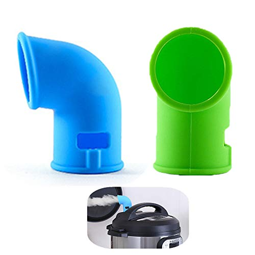 KeepingcooX® Zubehör für Dampfumlenk-Überdruckventile Compatible with Instant Pot Duo/Ultra/Smart/Nova/Viva Modelle, Kompatibel mit 3/5/6/8 Qt | Zubehör für Schnellkochtöpfe