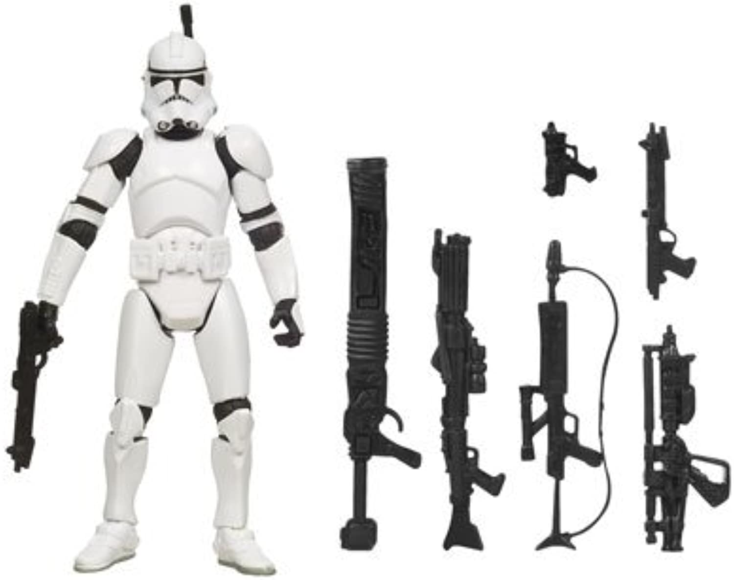 Star Wars Saga Legends Action Figure - Clone Troop by Hasbro B002PIYVN2 Neuheit Spielzeug   | Erlesene Materialien
