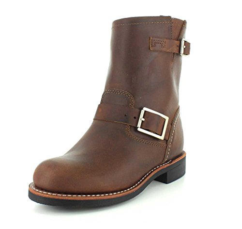Red Wing Heritage Women's Short Engineer Work Boot, Copper Rough and Tough, 6.5 B US