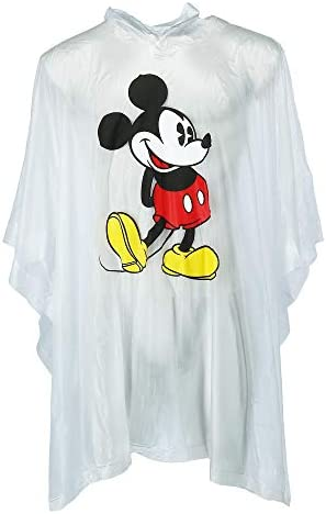 Jerry Leigh Disney Classic Mickey Mouse Rain Poncho Clear product image