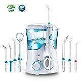 Idropulsore Dentale Professionale con 7 Beccucci, Jkevow Irrigatore Orale Elettrico...