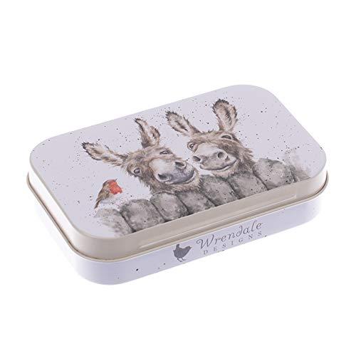 Wrendale Designs Geschenkdose für Andenken, 9,5 x 6 cm, Verschiedene Designs HEE Haw